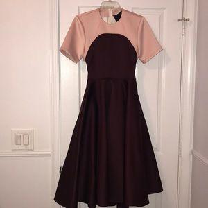 ASOS NWOT Formal Dress Pink/ Burgundy US Size 4